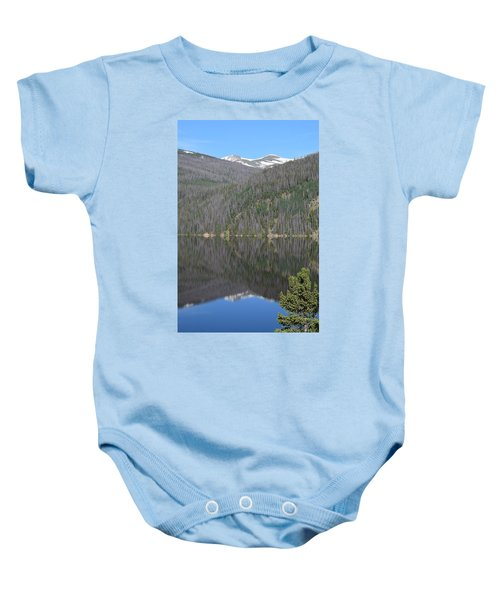 Chambers Lake Reflection Hwy 14 Co Baby Onesie