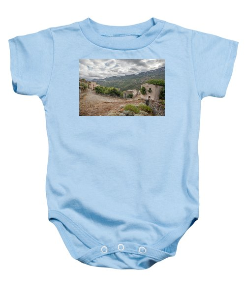 Abandoned Country Baby Onesie