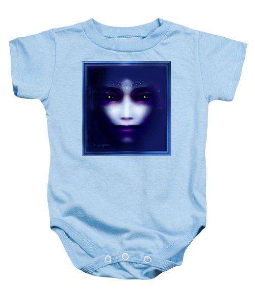 Angel  Blue Baby Onesie