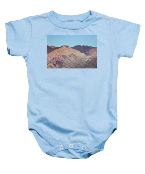 Baby Onesie featuring the photograph Avawatz Mountain by Jim Thompson