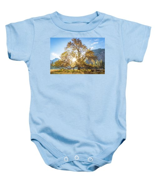 Baby Onesie featuring the photograph Elm Tree  by Vincent Bonafede