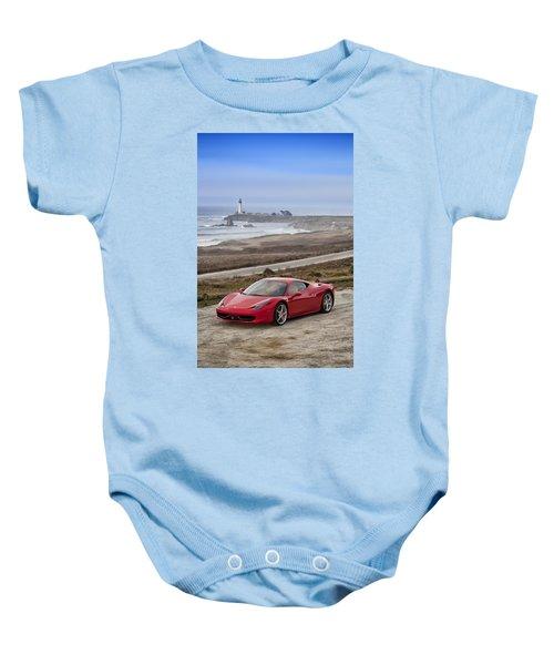 Ferrari 458 Italia Baby Onesie