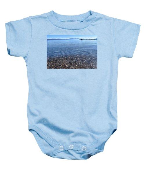 Lake Tahoe Baby Onesie