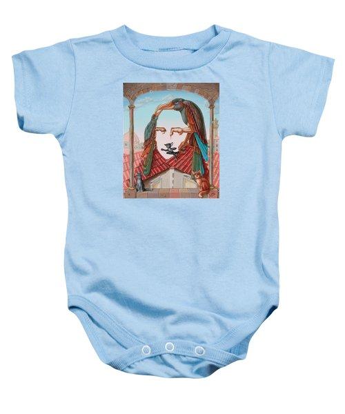 Mona Lisa. Air Baby Onesie