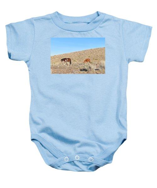 Mustangs Baby Onesie