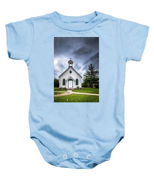 Old Church Baby Onesie