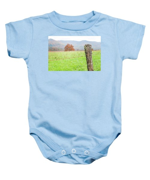 The Old Fence Post Baby Onesie