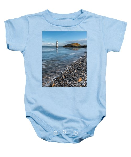 Penmon Point Lighthouse Baby Onesie