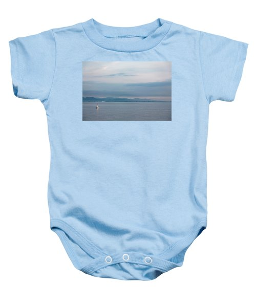 Sailing To Shore Baby Onesie