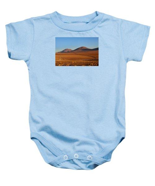Siloli Desert Baby Onesie