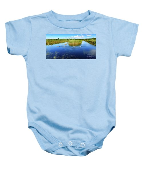Somerset Levels Baby Onesie