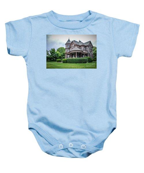 Stone House Baby Onesie