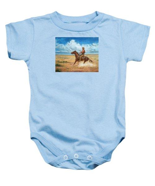 The Tracker Baby Onesie