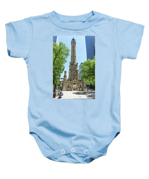The Water Tower Baby Onesie