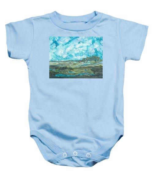 Toward Pinckney Island Baby Onesie
