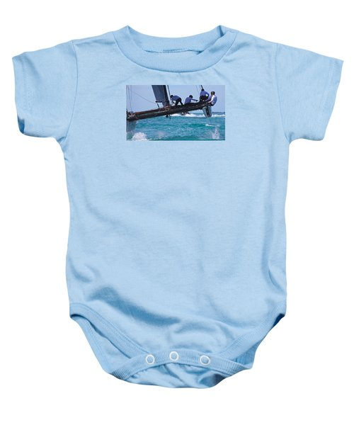 Key West Race Week Baby Onesie