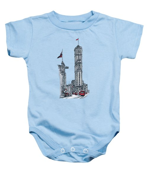 1908 Times Square,ny Baby Onesie