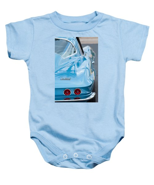 1967 Chevrolet Corvette 11 Baby Onesie
