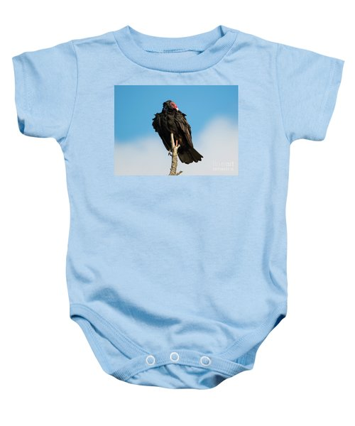 Looking For A Meal Baby Onesie by Mike Dawson