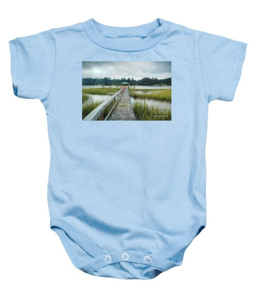 Lowcountry Dock Baby Onesie