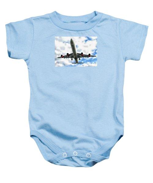 Passenger Plane Baby Onesie