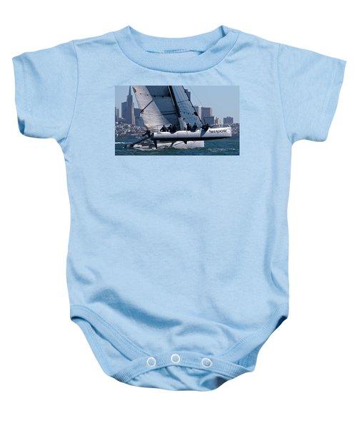 Rolex Big Boat Series Start Baby Onesie