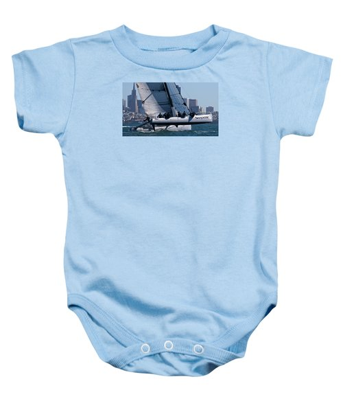 Rolex Big Boat Series Start Baby Onesie