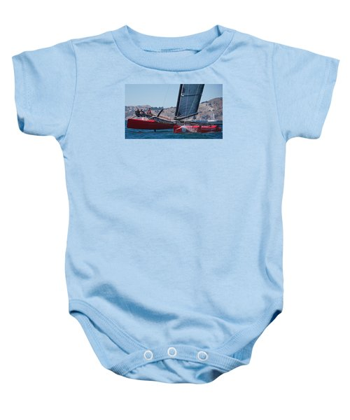 Upwind Spray Baby Onesie