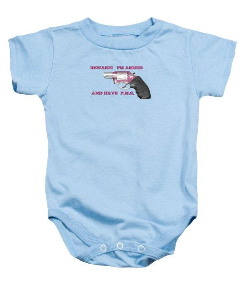 22 Magnum Baby Onesie
