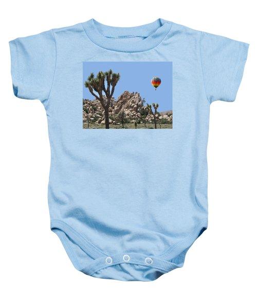 Joshua Landing Baby Onesie