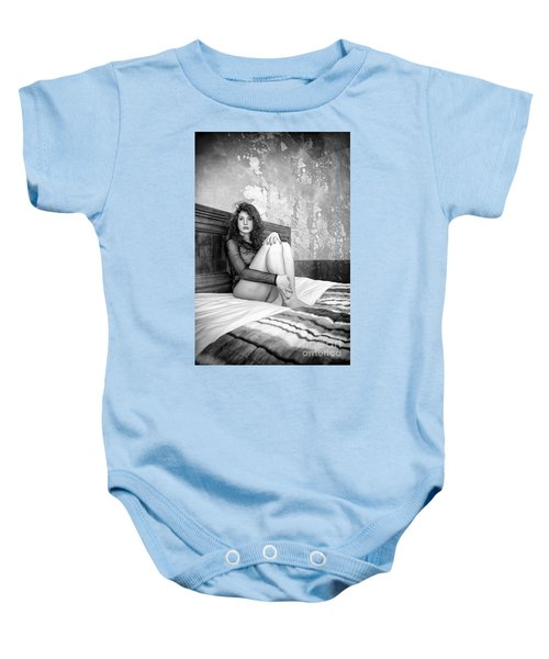 Trust Yourself Then You Will Know How To Live Baby Onesie