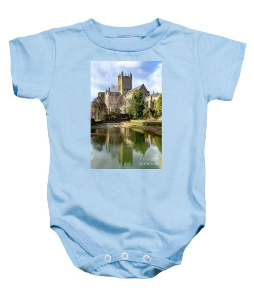 Wells Cathedral Baby Onesie