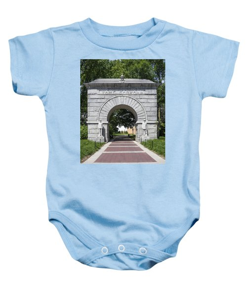Camp Randall Memorial Arch - Madison Baby Onesie