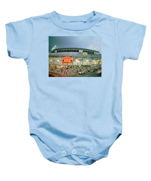High Angle View Of Tourists Baby Onesie