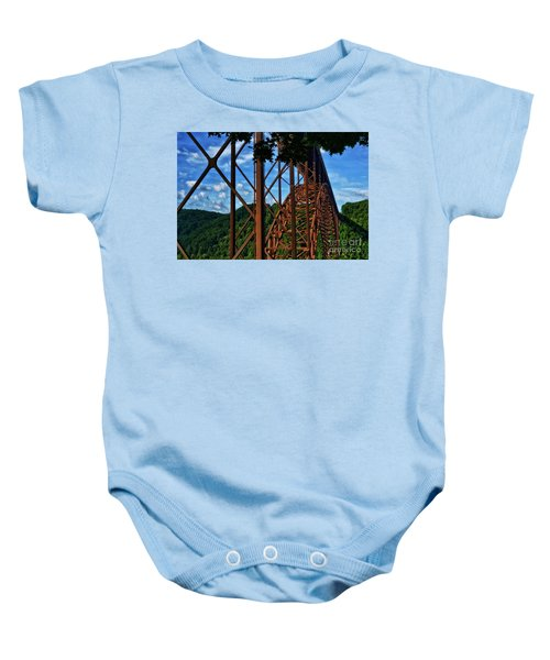 New River Gorge Bridge Baby Onesie