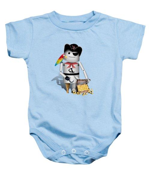 Robo-x9 The Pirate Baby Onesie