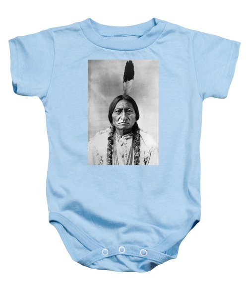 Sitting Bull 1834-1890. To License For Professional Use Visit Granger.com Baby Onesie