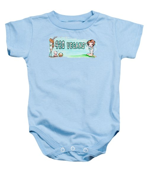 420 Vegans Baby Onesie