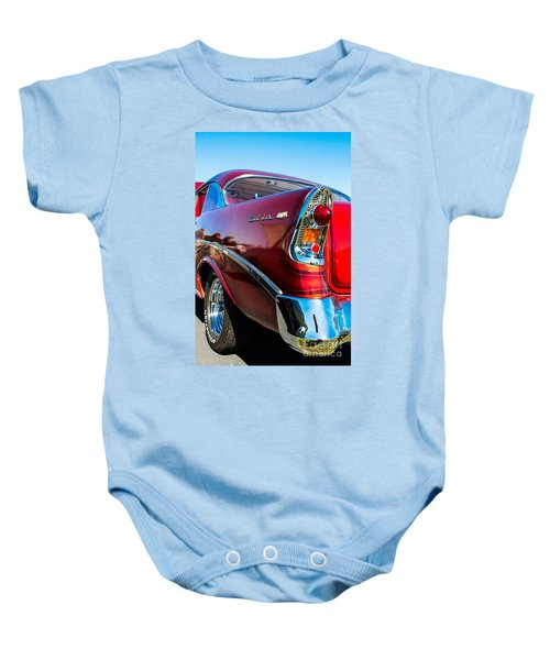 56 Chevy Bel Air Baby Onesie