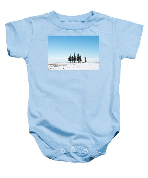 6 Pines And The Moon Baby Onesie