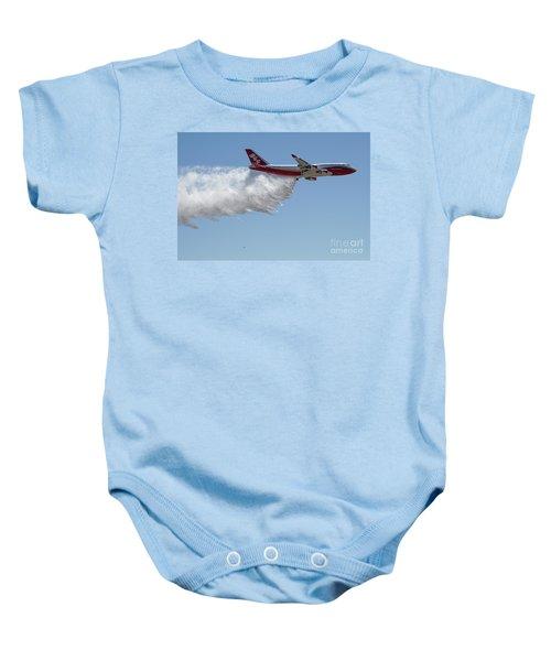 747 Supertanker Drop Baby Onesie