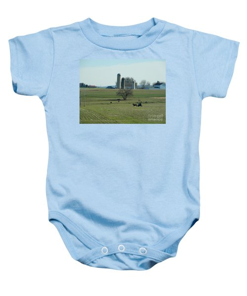 A Clear November Day Baby Onesie