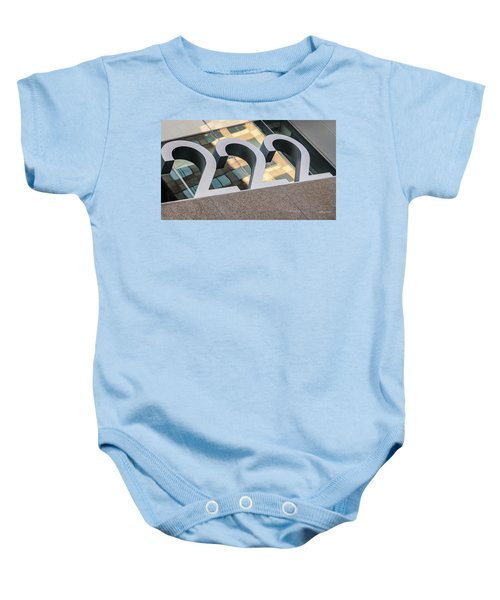 A Close Second - Architectural  Baby Onesie