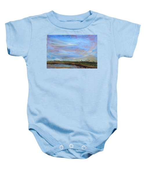 A Different Perspective Baby Onesie