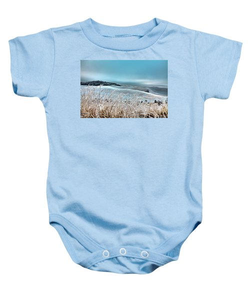A Frosty Morning On The Palouse Baby Onesie