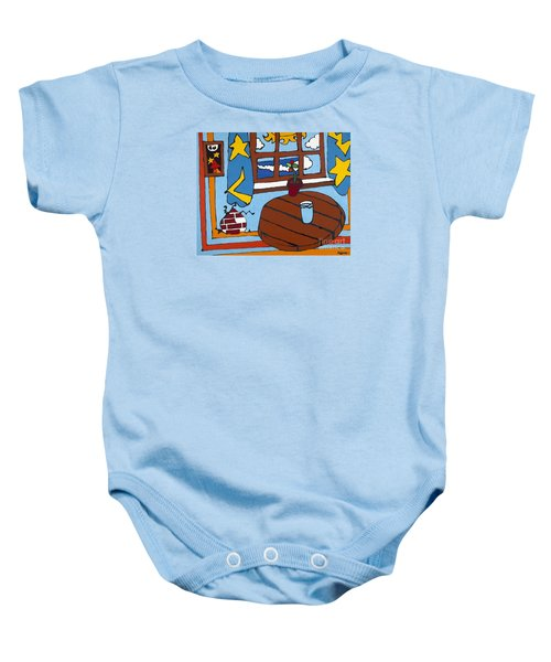 A Glass Of Water Baby Onesie