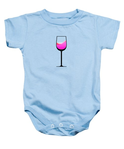 A Touch Of Wine Baby Onesie