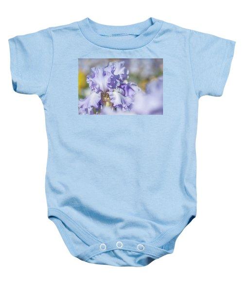 Absolute Treasure 1. The Beauty Of Irises Baby Onesie