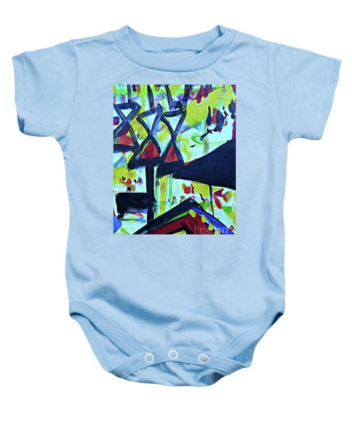 Abstract-27 Baby Onesie