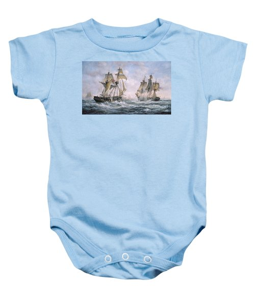 Action Between U.s. Sloop-of-war 'wasp' And H.m. Brig-of-war 'frolic' Baby Onesie